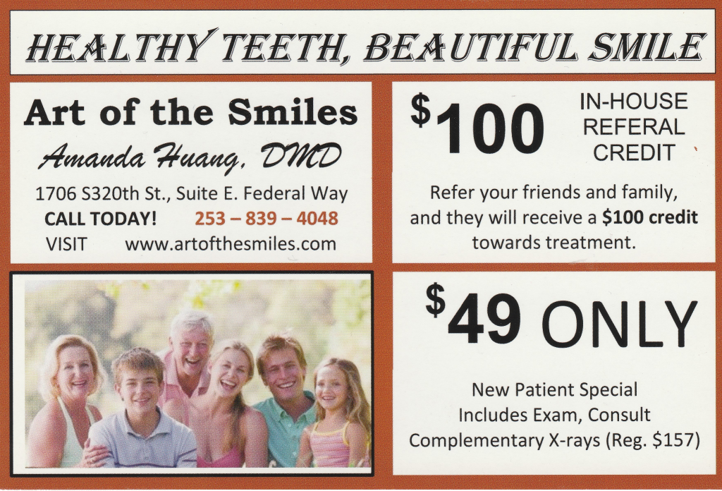 January Dental Special Federal Way